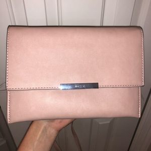 NEW Nine West blush pink crossbody bag